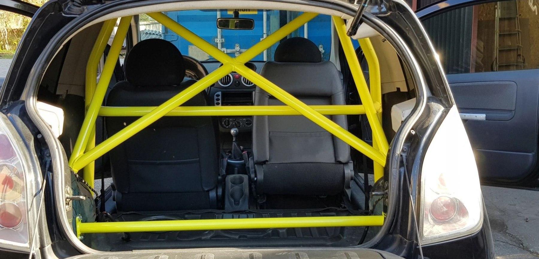 Rollbar Citroen C2 VTS VTR - GRUBYGARAGE - Sklep Tuningowy